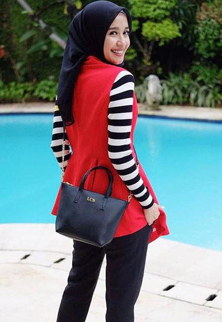 Gaya Hijab Laudya Cintya Bella yang Bisa Jadi Inspirasi