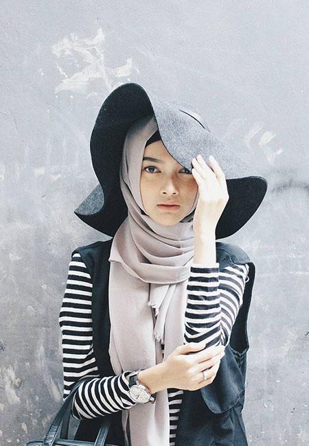 Model Hijab ala Selebgram yang Bakal Hits di 2018