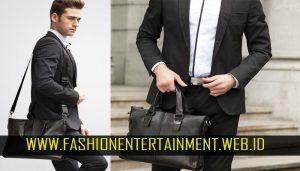 Tips Fashion Untuk Cowo pake tas blazer