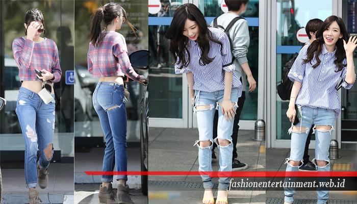 Kombinasi Keren Untuk Jeans Sobek