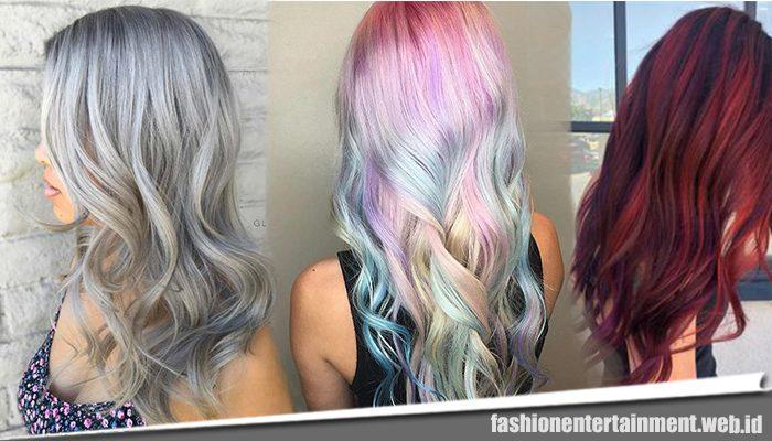 5 Model Warna Rambut Kekinian untuk Wanita