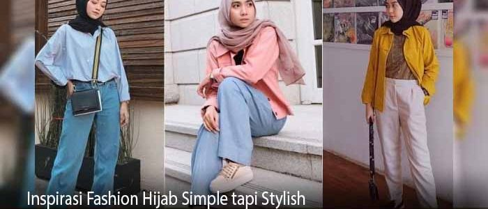 Inspirasi Fashion Hijab Simple tapi Stylish